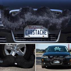 Carstache Classic Black Car Mustache