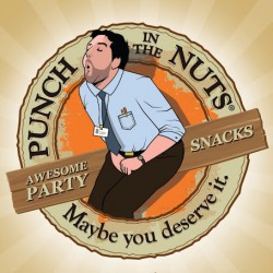 Punch In The Nuts Snack