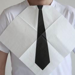 Shirt Tie Napkins