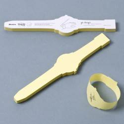 Sticky Note Wrist Watch